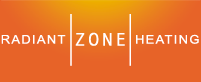 Radiant Zone Heating Sticky Logo